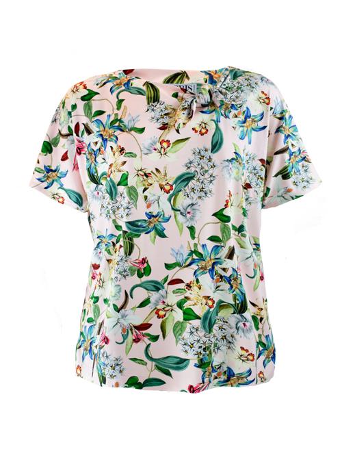 Bow Basic Shirt, Jersey, Perfect Pastell