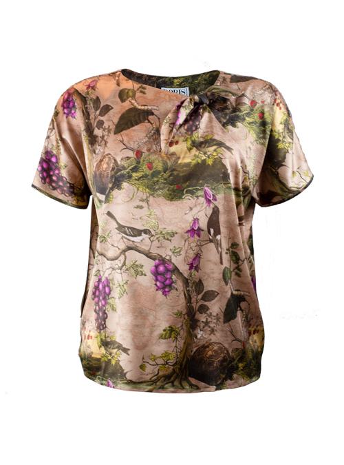 Bow Basic Shirt, Silk Edition
