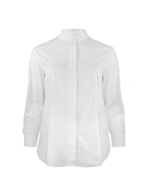 Style Blouse Deluxe, Monochrome white