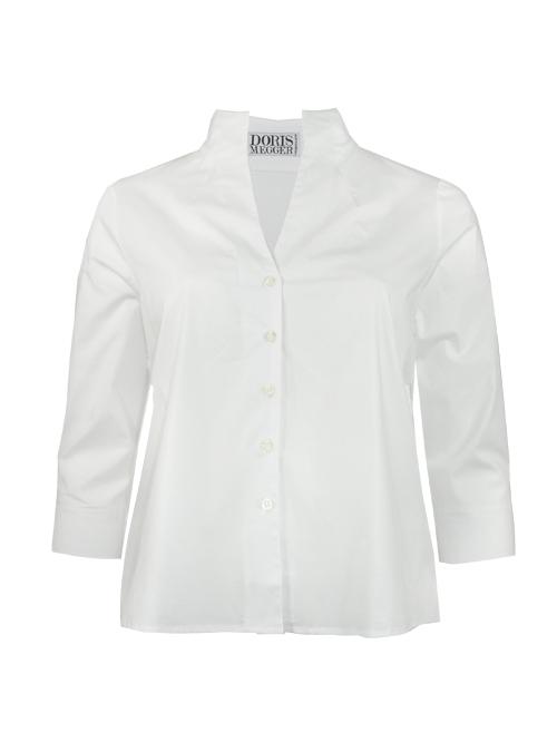 Spot on Blouse Deluxe, Monochrome White
