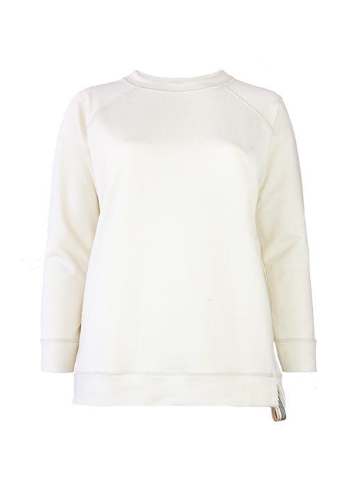 Cozy Deluxe Sweatshirt, Ivory, Arbeitstitel