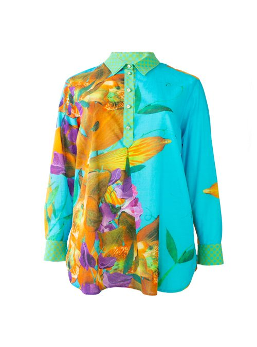 Best Blouse ever, Long back, Fiore