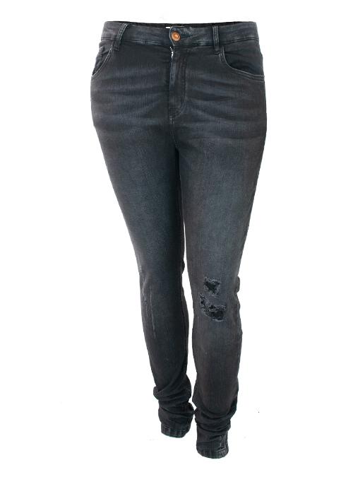 Skinny Jeans, Ultra Stretch, Grey