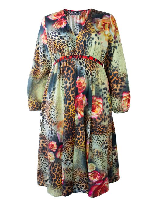 Vicky V-Neck Dress, Wild Rose Edition