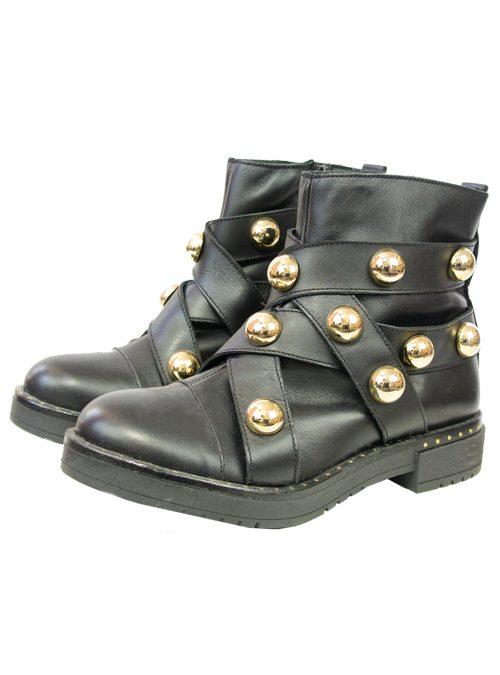 Luxury Boots, Golden Studs