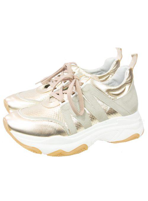 Plateau Sneaker, Gold