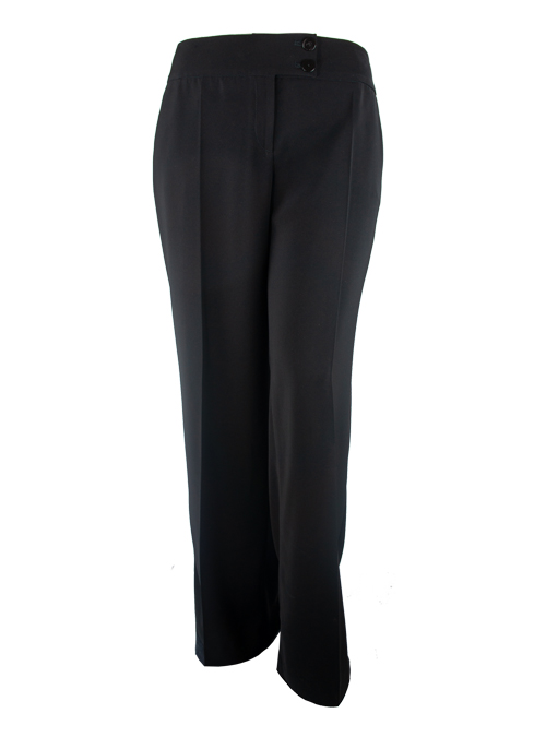 Basic Business Pants, Black