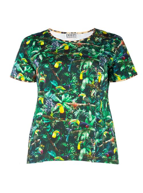 Casual Shirt, Paradise Garden
