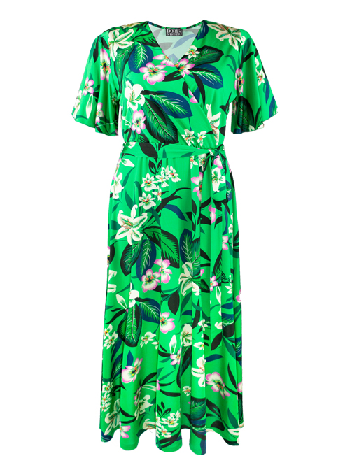 Riva Dress, Cataleya, Bright Green