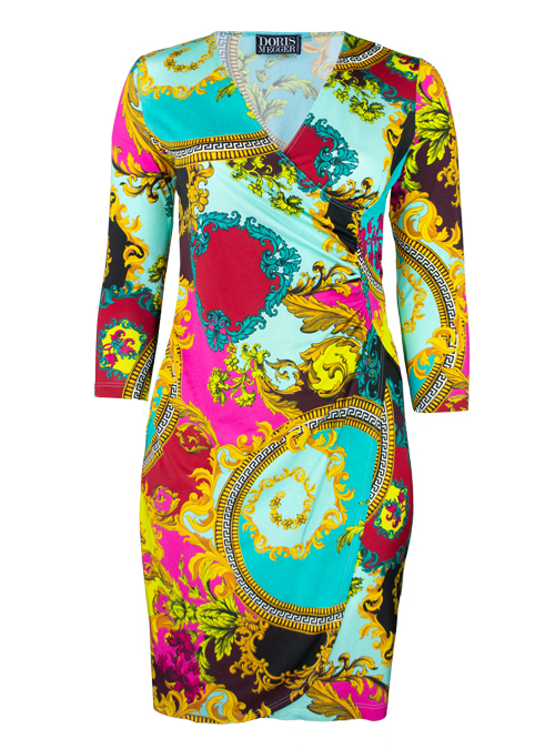 Curvy Wrap Dress Deluxe, Joy and Glory