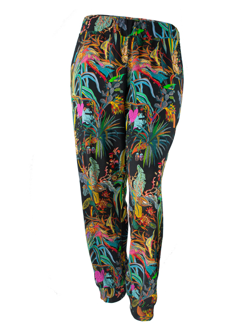Glam Pants Deluxe, Dark Paradise Print