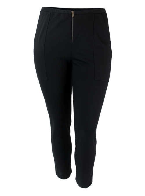 Ultra Slim Fit Pants, Black