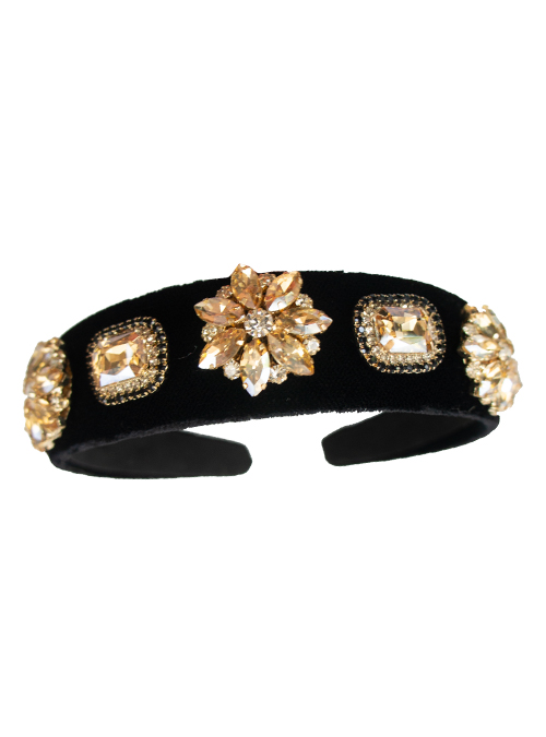 Beauty up, Headband, Soft Gold Velvet