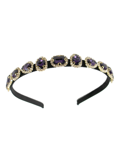Beauty up, Headband, Purple Crystallize