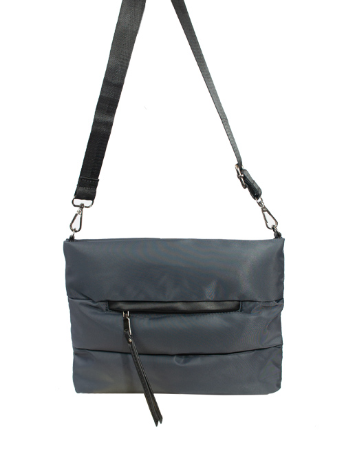 Soft Crossbody Bag, Anthrazit