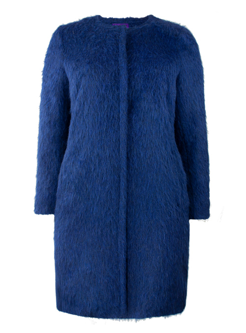 Soft Cut Coat, Lightning Blue