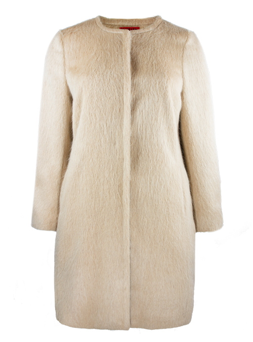Soft Cut Coat, High End Beige