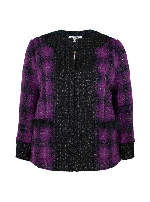 Couture Blazer, Mulberry Squares