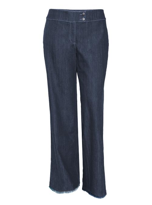 Marlene Jeans, Extendet Cut, Fringed