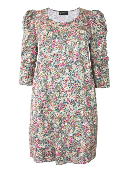 A-Line Dress, Ruffle Sleeves, Laura Edition