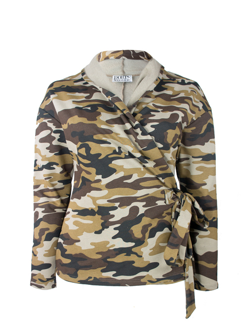 Home Sweet Home Layer Wrap, Camouflage