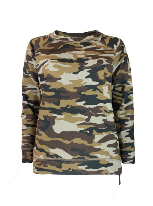 Home Sweet Home Sweatshirt, Camouflage