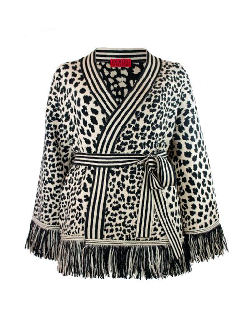 Handcrafted Cashmere Jacket, Leo Luxury Art