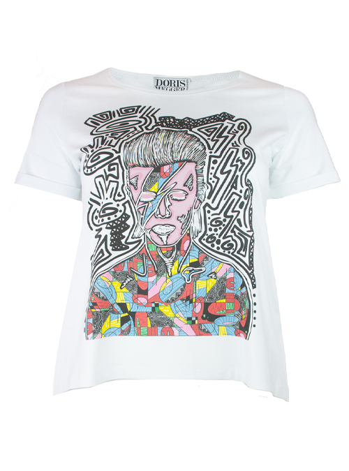Doris Statement Shirt, Art Edition, David