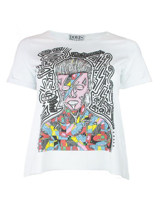 Doris Statement Shirt, Art Edition, David