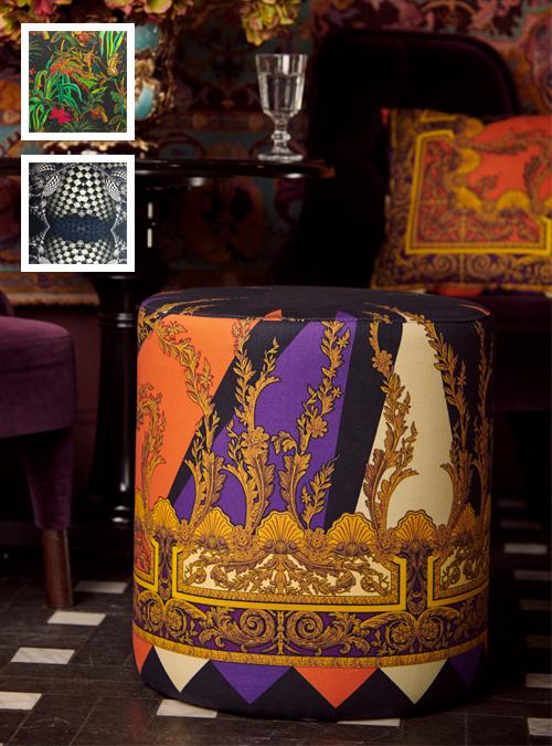 Pouf, Rondo, Various Prints