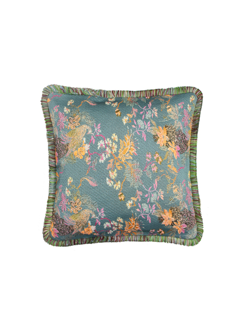 Diva Cushion, Kyoto, Fringed Edge