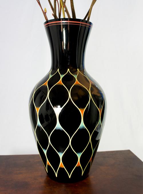 Regina della Notte Vase, Curated Vintage