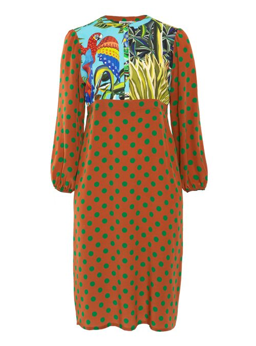 Bohemian Dress, Silk Edition, Midi Length