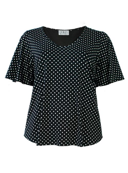 Dramatic Amanda Shirt, Iconic Dots