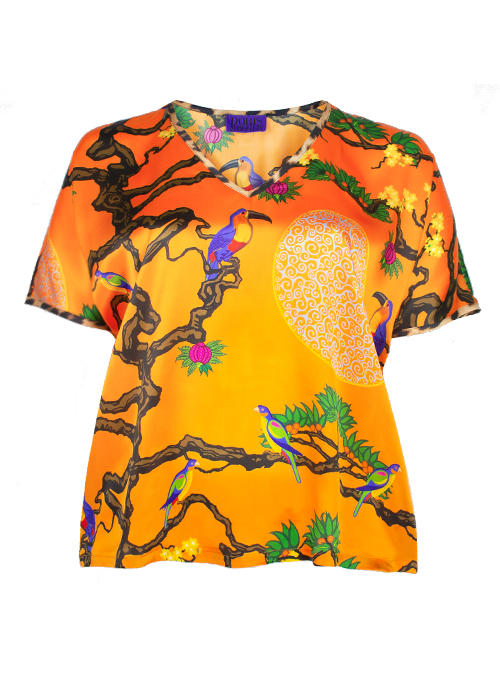 Silkshirt, Extraordinary Orange, Amazonia