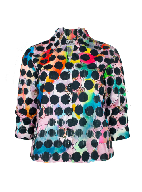 Spot on Blouse, Power Dots