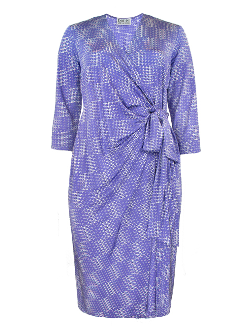 Magic Tie Dress, Modern Times, Lilac