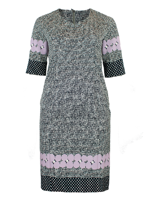 New Shape Dress, Minimal Dots