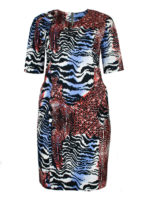 New Shape Dress, Urban Safari
