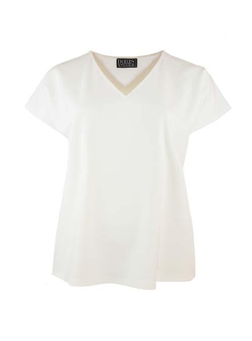 Sleek Jersey Shirt, Blanched Almond