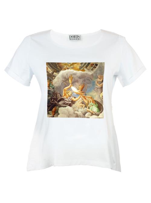 Doris Statement Shirt, Just Divine, White