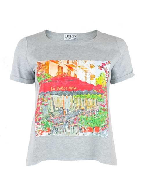 Doris Statement Shirt, Dolce Vita, Grey