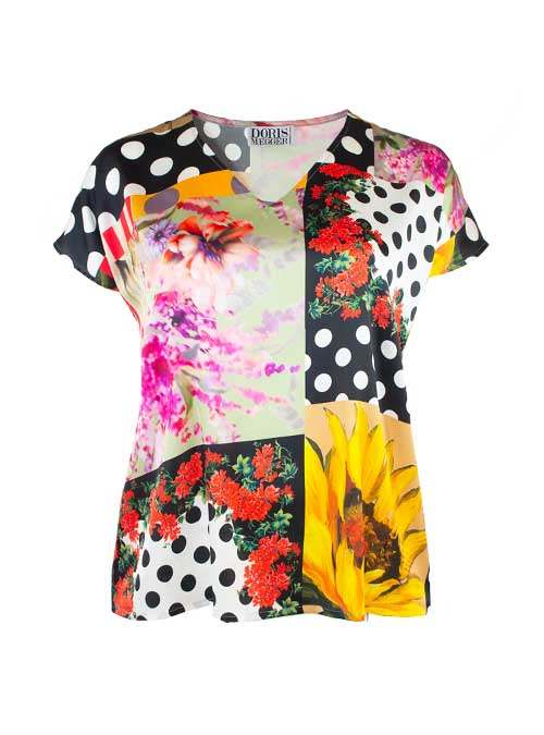 Easy Blouse, Summer in Tuscany