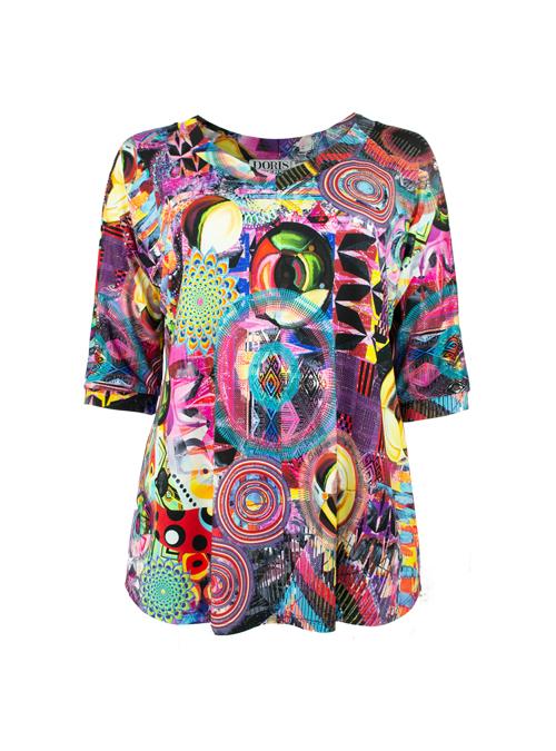 New Swing Shirt, Universe, Modest V-Neck