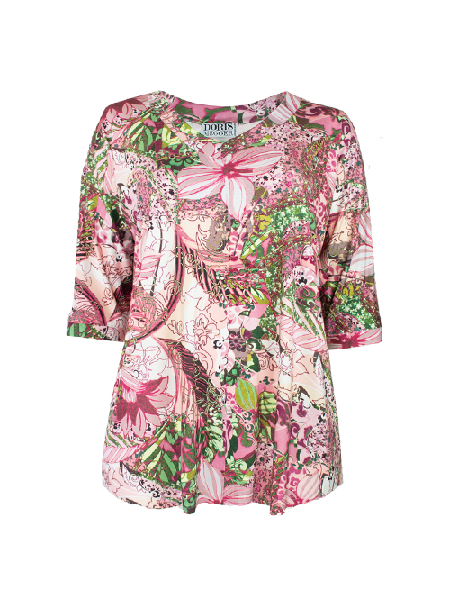 New Swing Shirt, Lilly to discover, Modest V-Neck