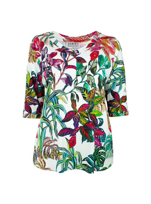 New Swing Shirt, Hotel California, Modest V-Neck