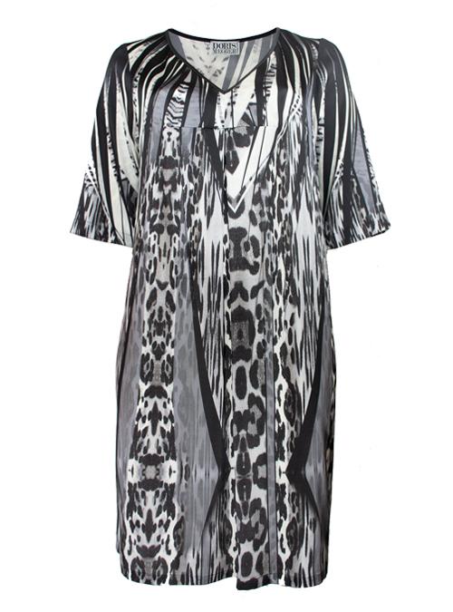 Pure Dress, Take it easy, Smoky Leopard, Silk