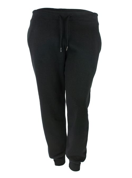 Jogging Pants, Io Vado, Embroidered, Black