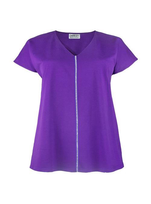 Sleek Shirt, Light Sweat, Precious Purple