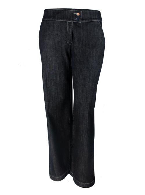 Marlene Jeans, Extendet Cut, Dark Denim